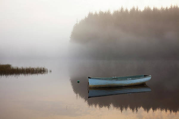 The Trossachs Wall Art - Photograph - Mist And Reflections On Loch Rusky by Empato