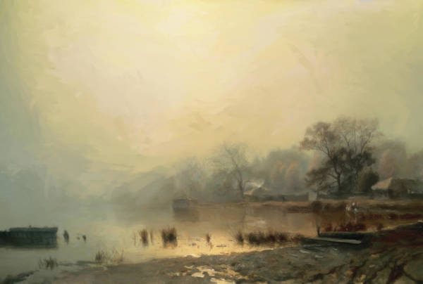 Painting - Mist In The Morning by Isabella Howard