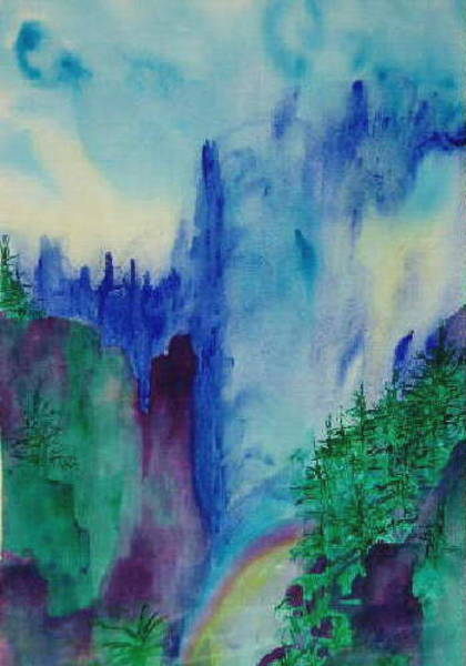 Mist Art Print by Phoenix Simpson