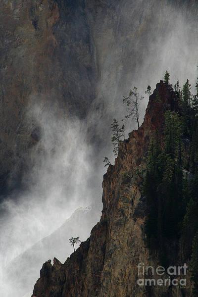 Photograph - Mist Rising 01 by E B Schmidt
