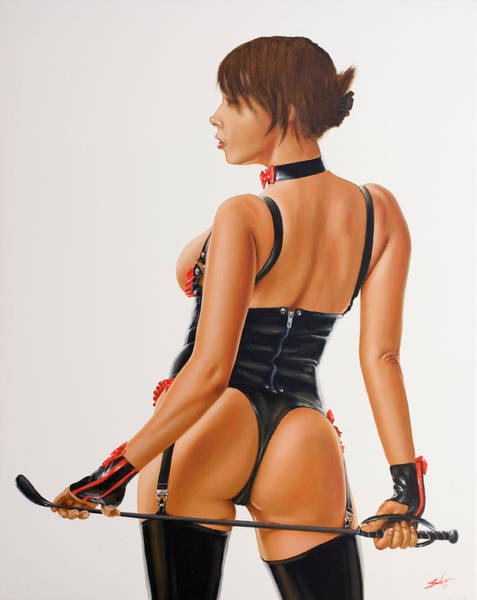 Painting - Mistress IIi by John Silver
