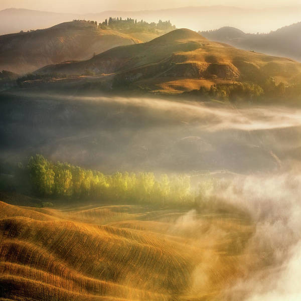 Layers Wall Art - Photograph - Mists... by Krzysztof Browko