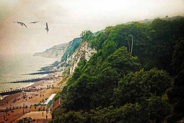 Photograph - Misty Afternoon In Eastbourne by Chris Lord