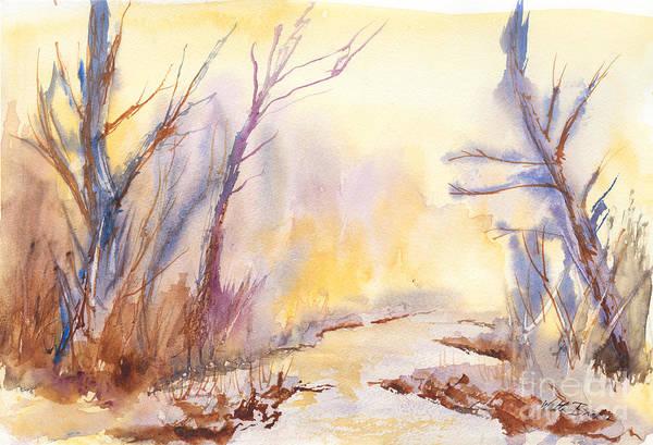 Misty Creek Art Print