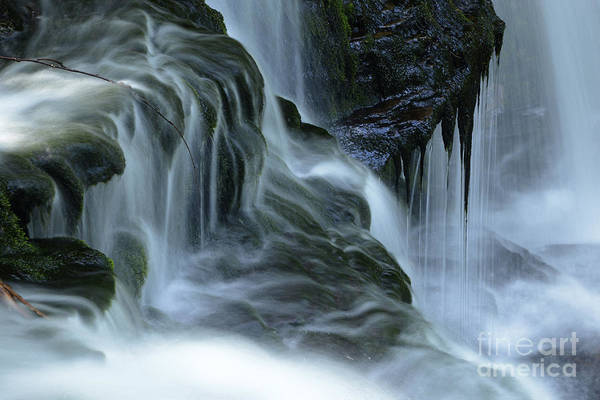 Wall Art - Photograph - Misty Falls - 70 by Paul W Faust -  Impressions of Light