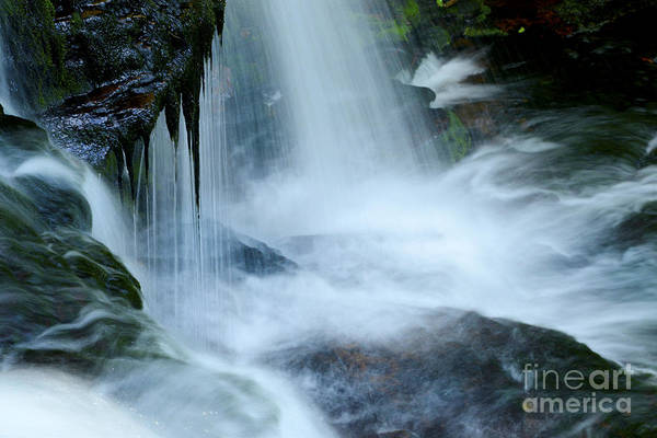 Wall Art - Photograph - Misty Falls - 73 by Paul W Faust -  Impressions of Light