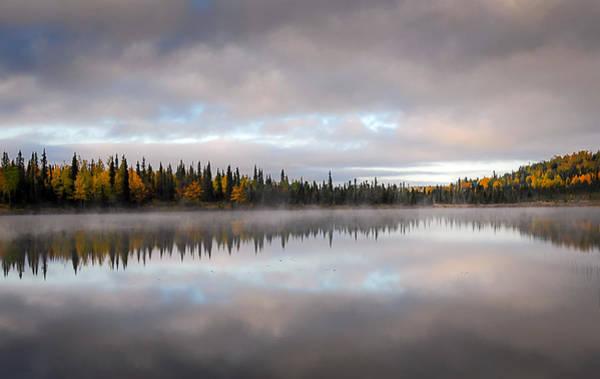 Photograph - Misty Lake by Patrick Wolf