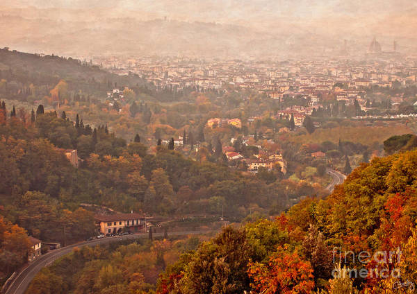 Photograph - Misty Morn O'er Florence by Prints of Italy