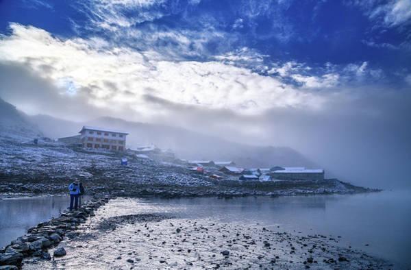 Gokyo Photograph - Misty Morning, Gokyo, Sagarmatha by Feng Wei Photography