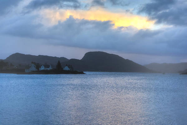 Photograph - Misty Morning On Loch Carron by Mark Tisdale