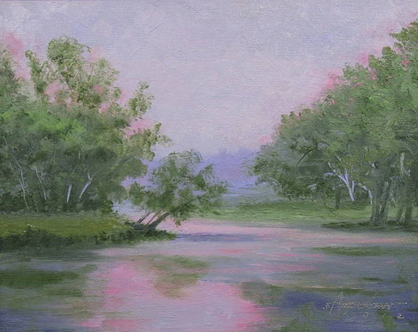 Painting - Misty Morning by Sherri Anderson