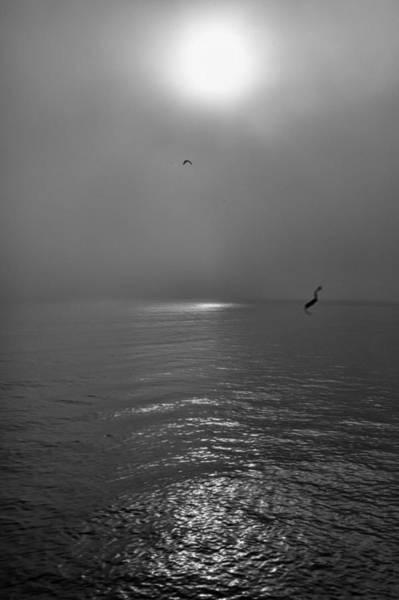 Photograph - Misty Morning Sunrise On The Bay by Gary Slawsky