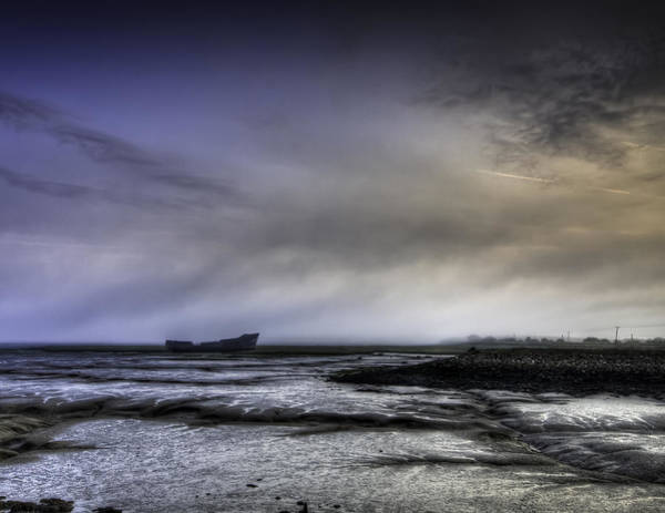 Abandon Ship Photograph - Misty Morning Wreck by Nigel Jones