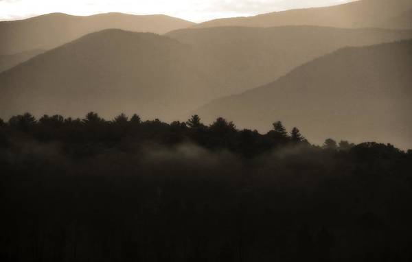 Photograph - Misty Mountain Morning In Tennessee by Dan Sproul