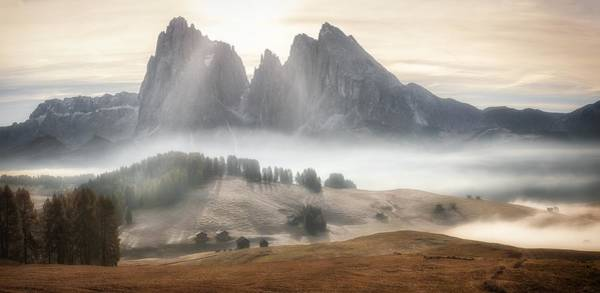 Wall Art - Photograph - Misty Mountains by Stan Huang
