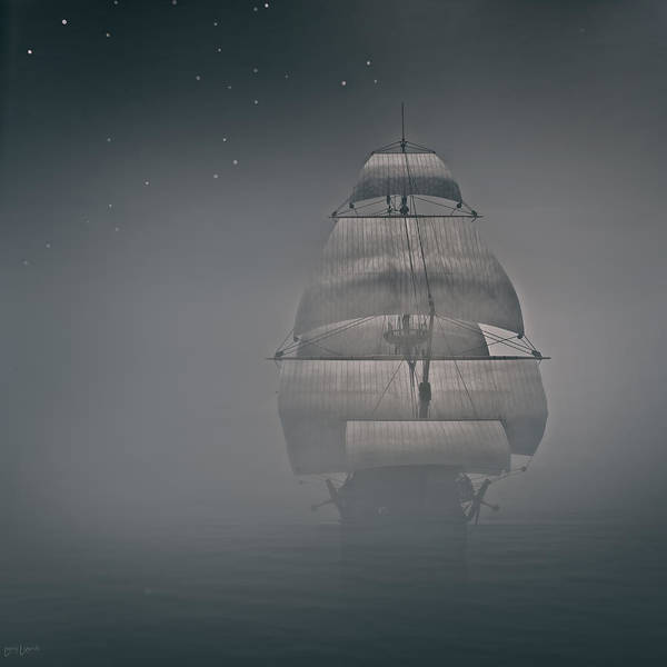 Photograph - Misty Sail by Lourry Legarde