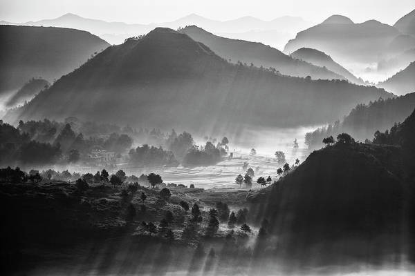 Wall Art - Photograph - Misty Sea Of Clouds by Zhou Chengzhou