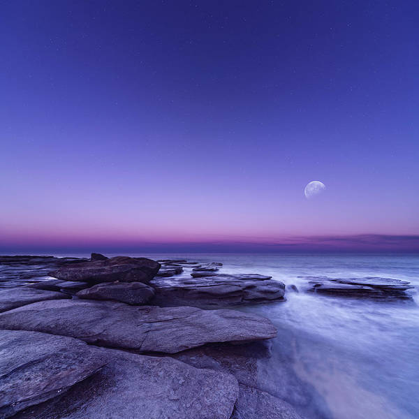 Noosa Wall Art - Photograph - Misty Twilight by Quirex
