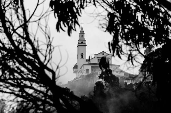 Wall Art - Photograph - Misty View Of Monserrate Church by Jess Kraft