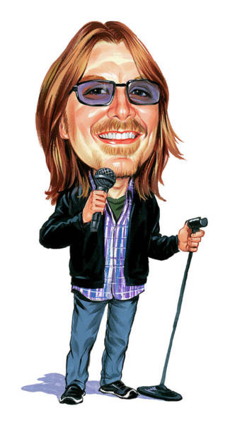 Marvelous Wall Art - Painting - Mitch Hedberg by Art