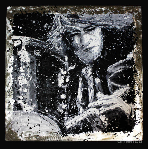 Painting - Mitch Mitchell by CK Mackie