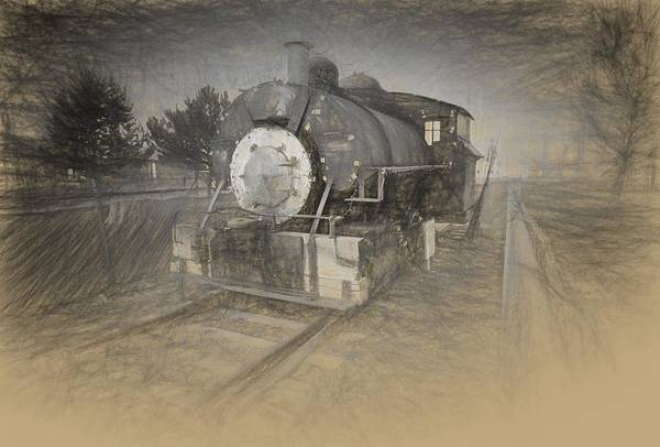 Photograph - Mitchell Train by HW Kateley
