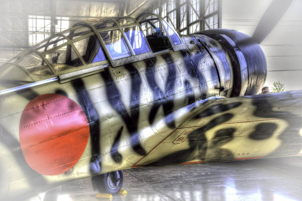 Japanese Zero Photograph - Mitsubishi Zero by Spencer McDonald