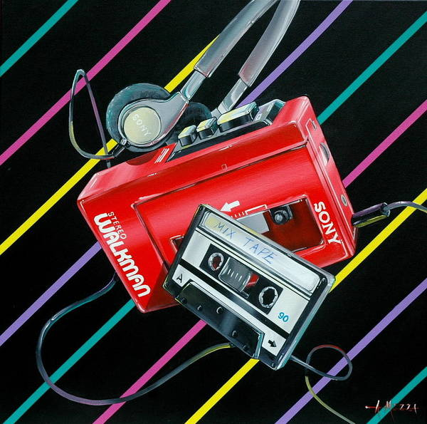 Style Painting - Mix Tape by Anthony Mezza