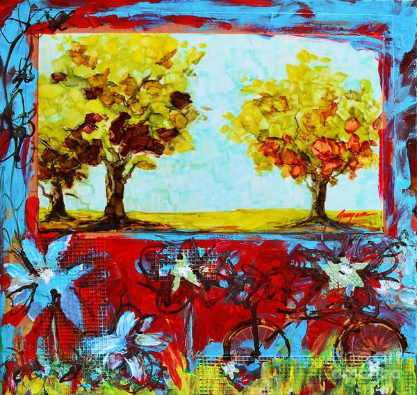 Painting - Mixed Media Joy Of Life by Patricia Awapara