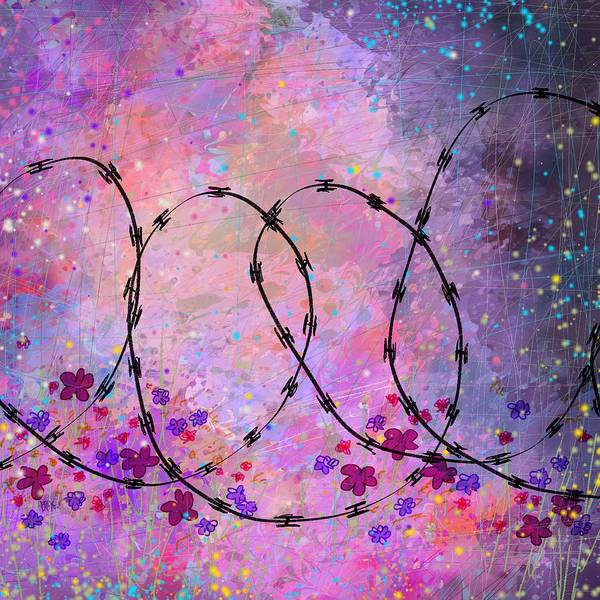 Divine Love Wall Art - Digital Art - Mixed Messages by William Russell Nowicki