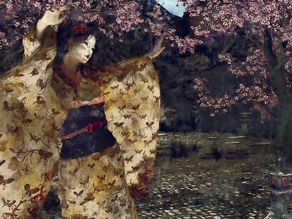 Painting - Miyako Odori by Maynard Ellis
