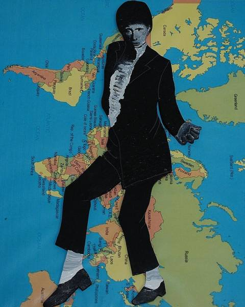 Painting - Mj Billie Jean by Karen Buford