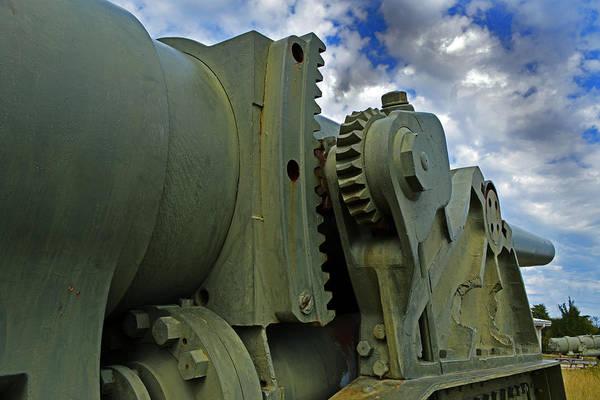 Photograph - Mk Vi 3a11 8 Inch Anti Ship Gun by Bill Swartwout Photography
