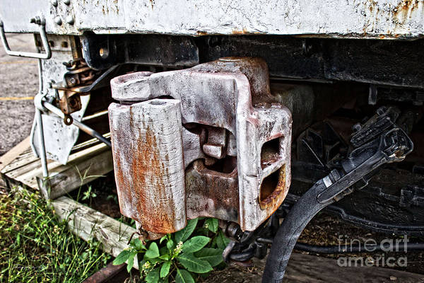 Photograph - Mkt Train Coupler by Ms Judi