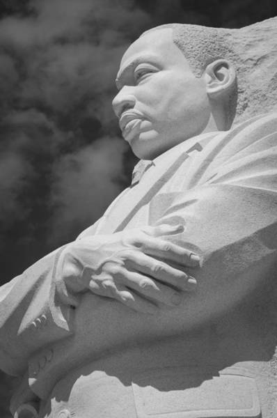 Photograph - Mlk-1 Bw by Frank Mari