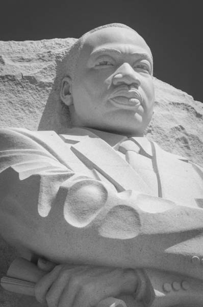 Photograph - Mlk-2 Bw by Frank Mari