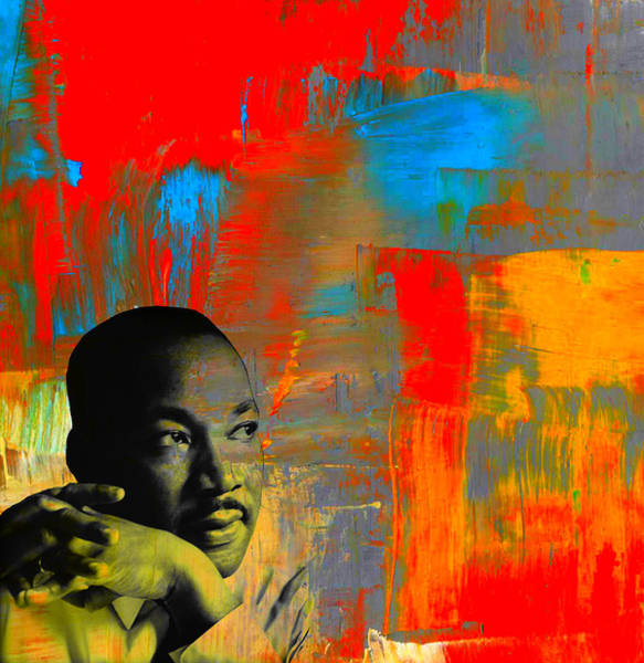 Mixed Media - Mlk Dreams by Michelle Dallocchio