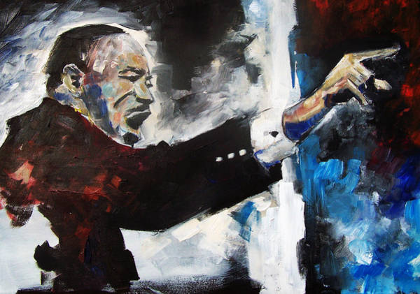 Painting - MLK by Sean Parnell