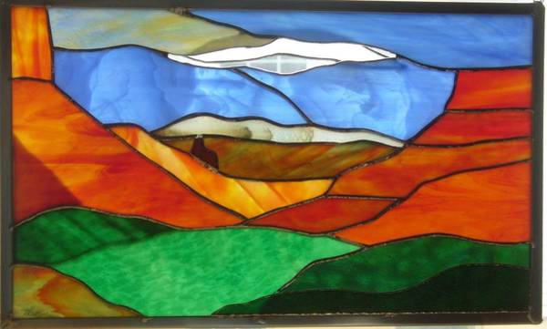 Glass Art - Moab by Karin Thue