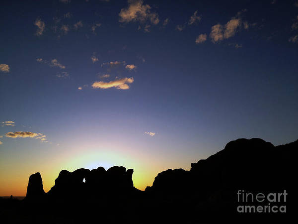 Art Print featuring the photograph Moab Sunset by Kate Avery
