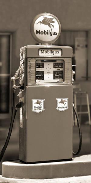 Wall Art - Photograph - Mobilgas - Wayne Double Gas Pump 2 by Mike McGlothlen