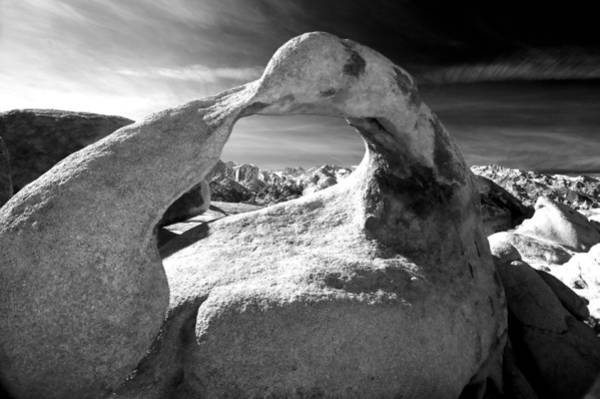 Eastern Sierra Photograph - Mobius Arch by Cat Connor