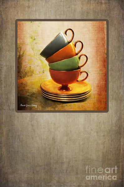 Photograph - Mocha Cups by Randi Grace Nilsberg