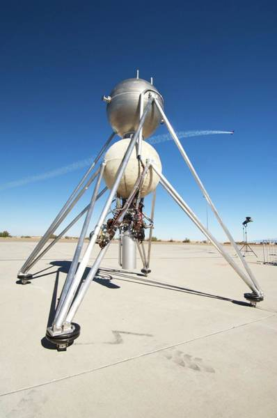 Mod Photograph - Mod-1 Lunar Lander by Louise Murray/science Photo Library