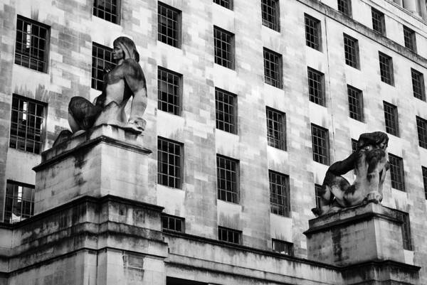 Wall Art - Photograph - Mod Building London by Mark Rogan