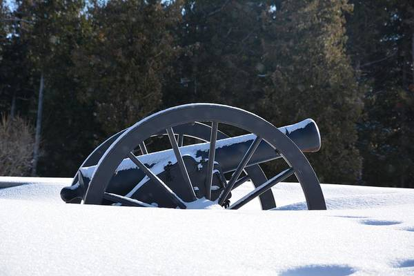 Photograph - Model 1841 6-pounder Gun by Keith Stokes