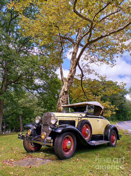 Photograph - Model A Roadster by Mark Miller