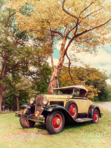 Photograph - Model A Roadster - Retro Version by Mark Miller