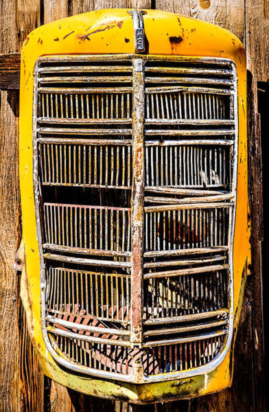 Photograph - Model Eg Mack Truck Grill by  Onyonet  Photo Studios