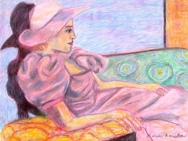 Pastel - Model Hat by Kendall Kessler